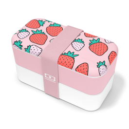 Original Graphic Strawberry - Bento Box