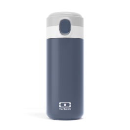 Insulated compact bottle - POP Blue Infinity MB