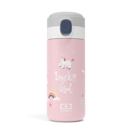 Insulated compact bottle -  POP Pink Unicorn MB
