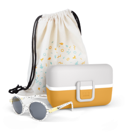 Kit sunglasses Ki ET LA and Tresor  Moutarde Mobento