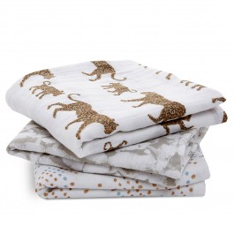3 Pack - Musy Classic Swaddle Hear me Roar