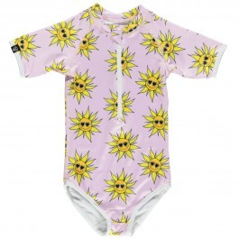 Sunny Flower  Rash Guard
