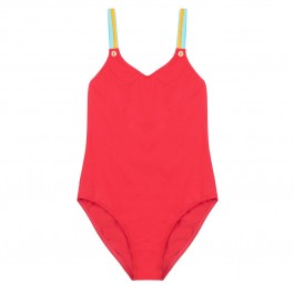 Swimsuit for girls - Lisa Poppy Red
