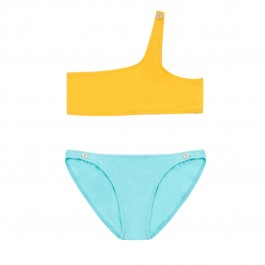 Swimsuit for girls - Sun and Tropical Blue