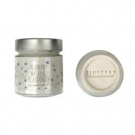 Φυσική πλαστελίνη Bluberry 300gr -  Λευκό Coconut