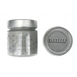 Φυσική πλαστελίνη Bluberry 300gr -  Γκρι Stone