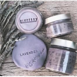 Φυσική πλαστελίνη Bluberry 150gr -  Μωβ Lavender