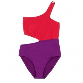 Swimsuit for girls - Jenny Poppy Seed Violet
