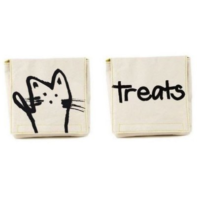 Organic Cotton Snack Pack Set - Meow