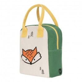 Eco Zipper Lunch Bag - Fox