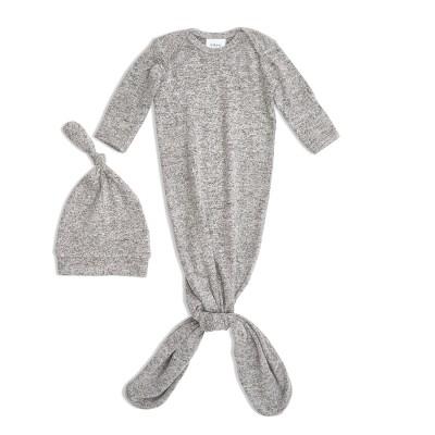 Βρεφικό σετ - Snuggle knit gown & hat set