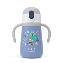 MB Stram blue Dino- The insulated kid's bottle