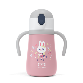 MB Stram Pink Bunny- The insulated kid's bottle