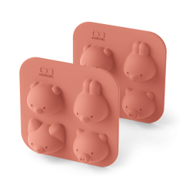 MB Silifriends animal silicone cake moulds