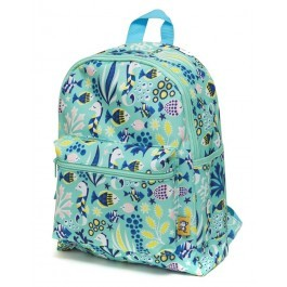 Backpack Under the sea green