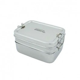 Leak Resistant Lunch Box with mini container- Panna