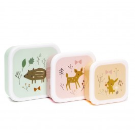 Lunch Box Forest Friends - Set of 3