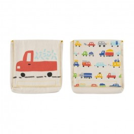 Organic Cotton Snack Pack Set - Cars