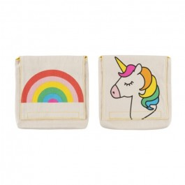Organic Cotton Snack Pack Set -  Rainbows