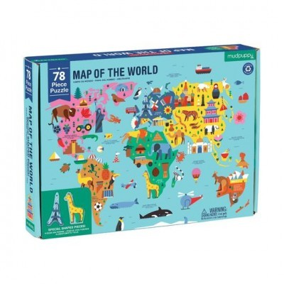 Puzzle - Map of World
