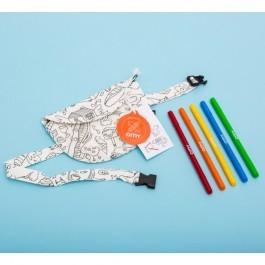 Υφασμάτινη τσάντα με μαρκαδόρους ΟΜΥ
