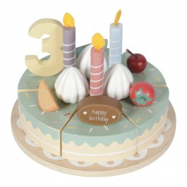 Birthday Wooden Cake