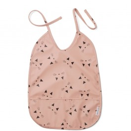 Lai bib - Cat Rose