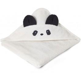 Hooded βρεφική πετσέτα μπάνιου - Panda Creme de la creme