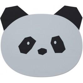 Placemat σιλικόνης σε σχήμα Panda
