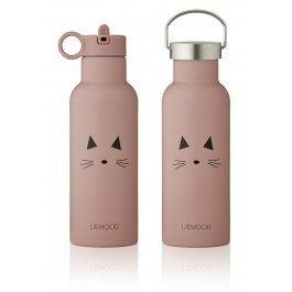 Neo Water Bottle - 500ml - Cat Rose