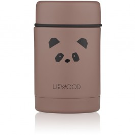 Nadja Food Jar - Panda dark rose