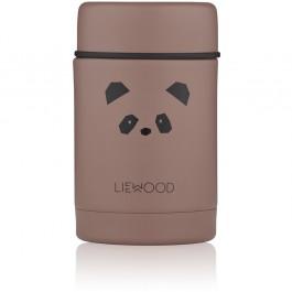 Ισοθερμικό ανοξείδωτο δοχείο φαγητού - Panda Pink Rose