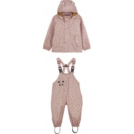 Rainwear set Dakota - Confetti rose