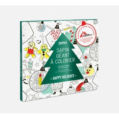 Coloring Poster - Christmas Tree