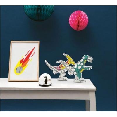 3D Φουσκωτό παιχνίδι ζωγραφικής - Δεινόσαυροι
