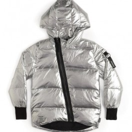 Shiny smile down jacket - Nununu