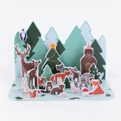 Advent Calendar - Forest Animals