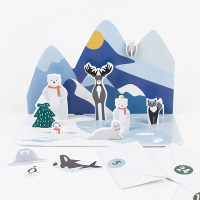 Advent Calendar - Polar Animals
