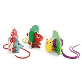 Wooden Lace Toy- Animals by Djeco
