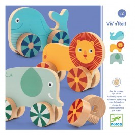 Vis'n Roll Wooden activity toy