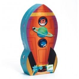 Μίνι Παζλ Διαστημόπλοιο - 16τμχ