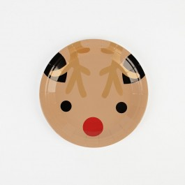 Small Paper Plates - Mini Reindeer