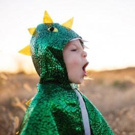 Κάπα δράκου πράσινη μεταλλική