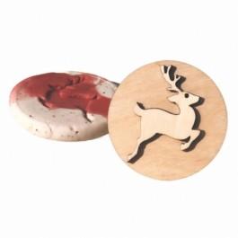 Wooden Stamp Deer