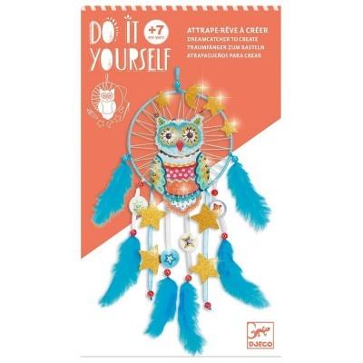 DIY Φτιάχνω - Ονειροπαγίδα 'Κουκουβάγια'