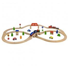 Wooden Train - 49pcs