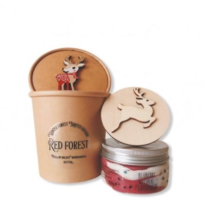 Limited Gift Set Xmas Edition 150gr - Red Forest