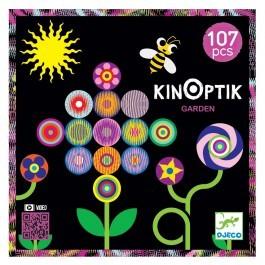 Μαγνητικό παζλ με εφέ κίνησης 'Kinoptik - Κήπος' 107 τεμ.