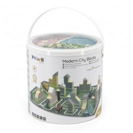 Modern City Blocks - 56pcs