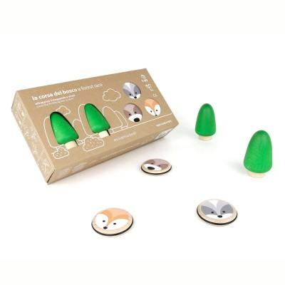 Ξύλινο επιτραπέζιο παιχνίδι - Αγώνας στο Δάσος